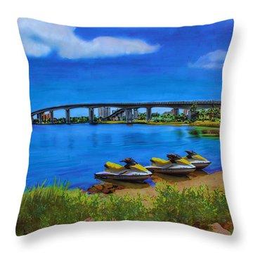 Do You Sea Doo Throw Pillow