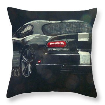 Dodge Viper 2 Throw Pillow