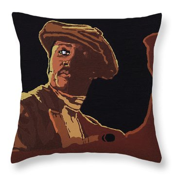 Donny Hathaway Throw Pillow