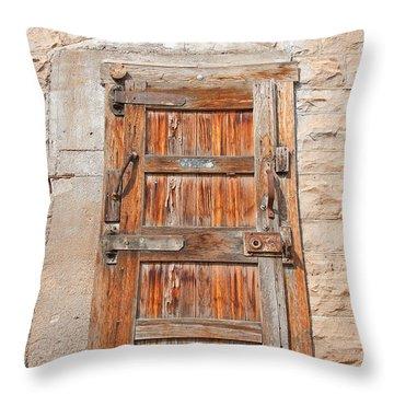 Door Series 1 Throw Pillow
