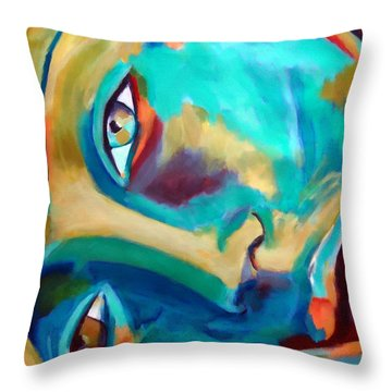 Doorway To The Heart Throw Pillow