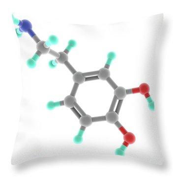 Neurotransmitter Throw Pillows