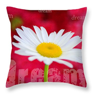 Dream Throw Pillow by Darren Fisher