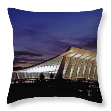 Dulles International Throw Pillow