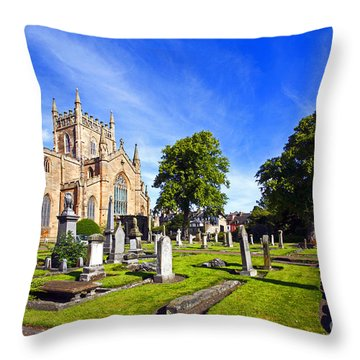 Dunfermline Abbey Scotland Throw Pillow