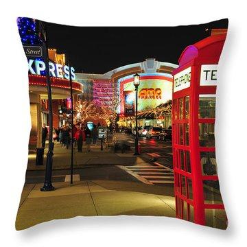 D65l-162 Easton Town Center Photo Throw Pillow