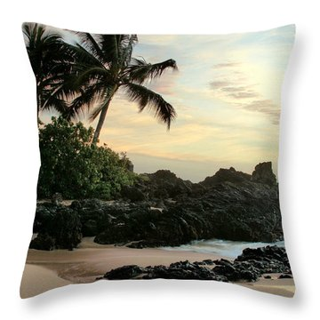 Edge Of The Sea Throw Pillow