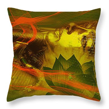 Egyptian Pharaoh Throw Pillow