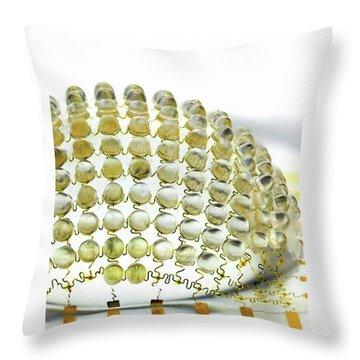 Biomimetics Throw Pillows