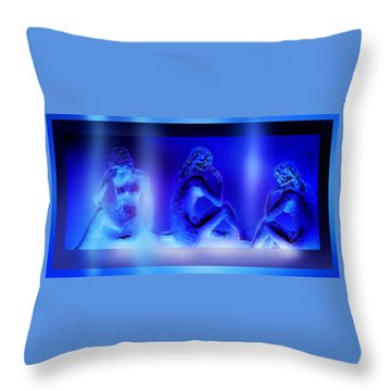 Elusive  Dream Throw Pillow by Hartmut Jager