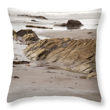Emergence Throw Pillow by Amanda Barcon