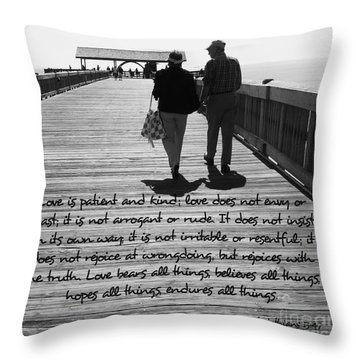 Endless Love  Throw Pillow by Andrea Anderegg