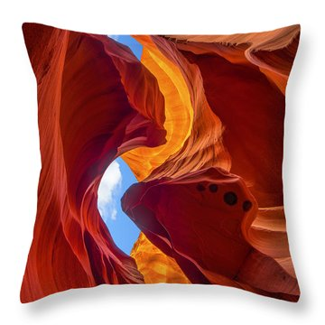 Throw Pillow featuring the photograph Enduring Beauty  by Dustin  LeFevre