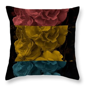Enjoy The Silence Throw Pillow by Holley Jacobs