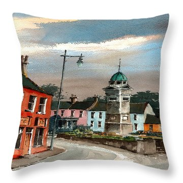 Enniskerry Village Wicklow Throw Pillow