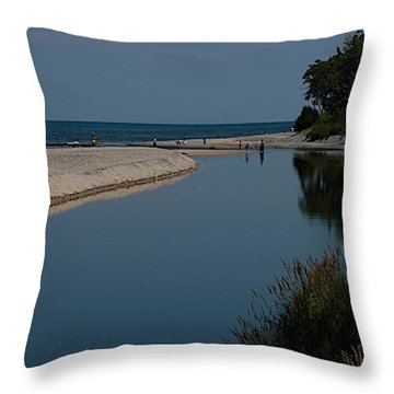 Entrance Throw Pillow by Joseph Yarbrough