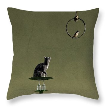 Equilibrium IIi Throw Pillow