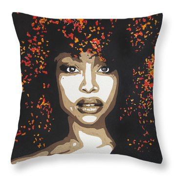 Erykah Throw Pillow