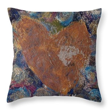 Eternal Heart Throw Pillow