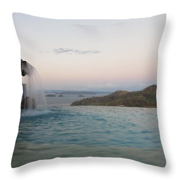 Evening Overlook Throw Pillow