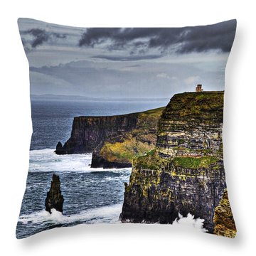 Evermore Throw Pillow