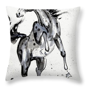 Exuberance Throw Pillow
