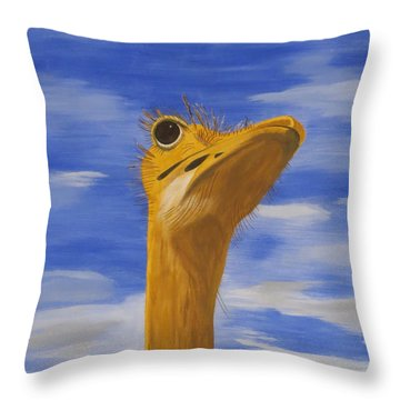Eye To The Sky Throw Pillow by Tim Townsend