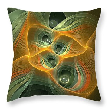 Eyes Of Sarawak Throw Pillow