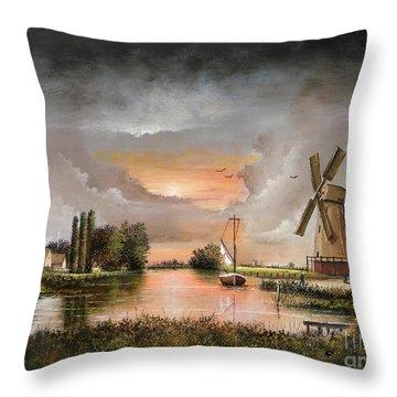 Fairhaven Mill Throw Pillow