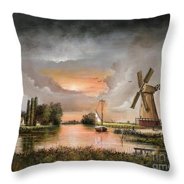 Fairhaven Mill Throw Pillow