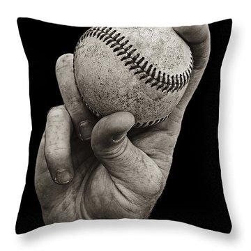 Fastball Throw Pillow