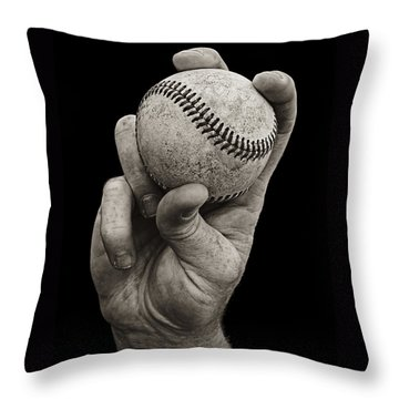 Fastball Throw Pillow