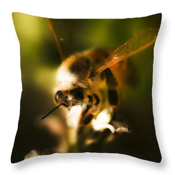 Fauna And Flora Meet Throw Pillow