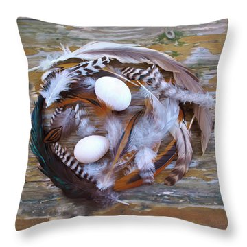 53. Feather Wrath Can Be Ordered Throw Pillow