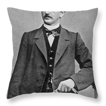Ferdinand Lassalle (1825-1864) Throw Pillow