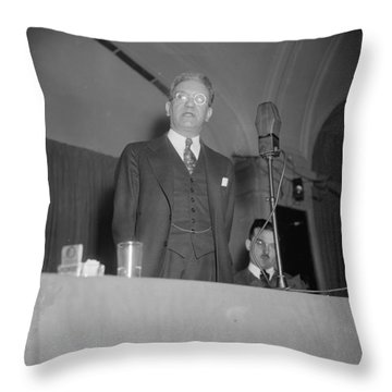 Ferdinand Pecora (1882-1971) Throw Pillow
