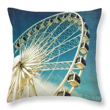 Ferris Wheel Throw Pillows