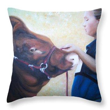 Ffa At The Fair Throw Pillow by Martha Suhocke