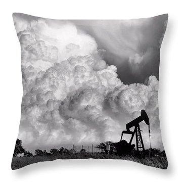 Storms Throw Pillows
