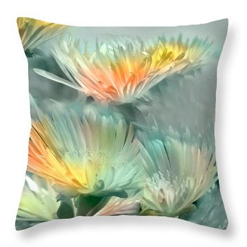 Fiesta Floral Throw Pillow
