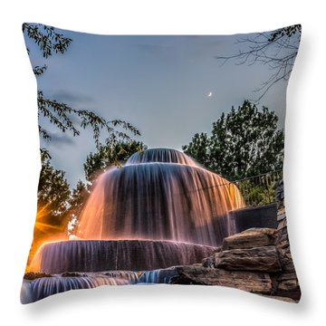 Throw Pillow featuring the photograph Finlay Park by Rob Sellers