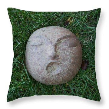 Throw Pillow featuring the photograph First People by Kristen R Kennedy