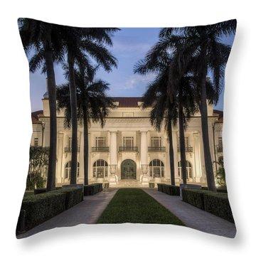 Flagler Museum Throw Pillow