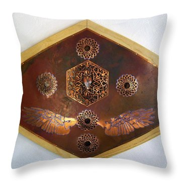 Flight For Life Throw Pillow