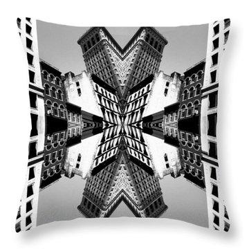 Flat Iron Throw Pillow