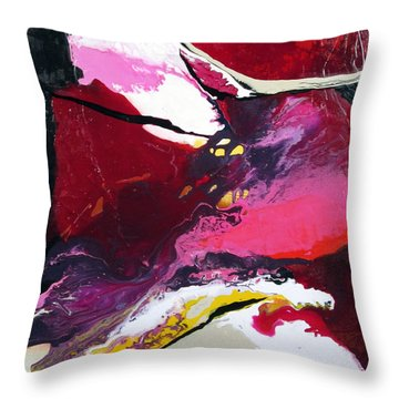 Flow With Me Throw Pillow