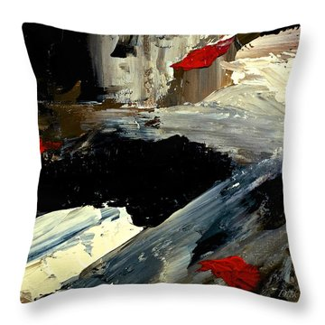 Flume Throw Pillow