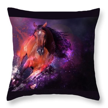 For Life Throw Pillow by Kate Black