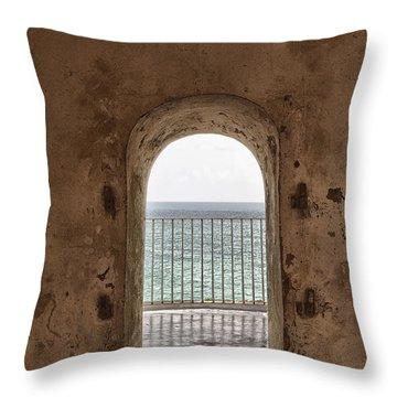 Fort Castillo San Felipe Del Morro Throw Pillow