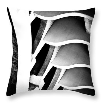 Fractal Ford Throw Pillow